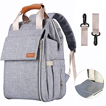 Amazon.com : Diaper Bag Backpack, Multifunction