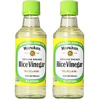 Marukan Genuine Brewed Rice Vinegar (2 Pack, Total of 24fl.oz)