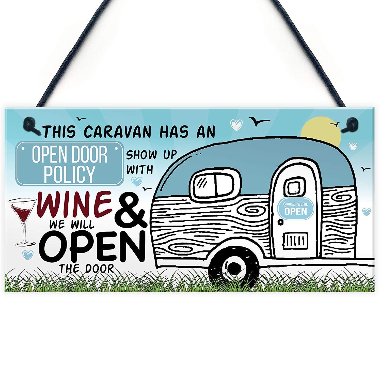Kue Herp Open Door Policy Caravan Novelty Funnyhabby Chic ...