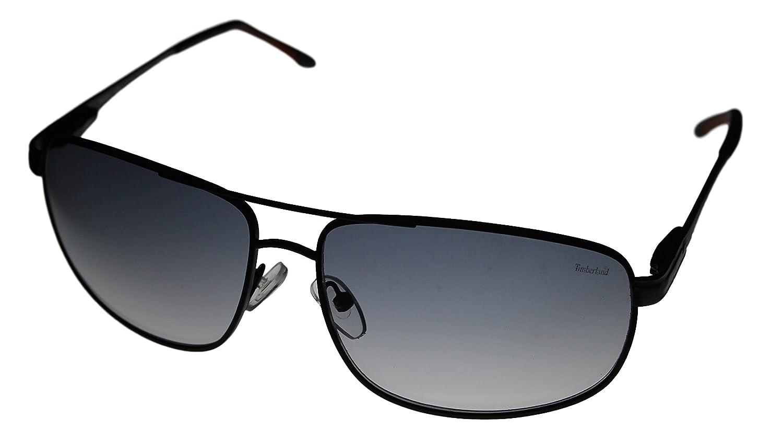 f25d62636ddba Amazon.com  Timberland Mens TB7072-002B Aviator Style Sunglasses  Clothing