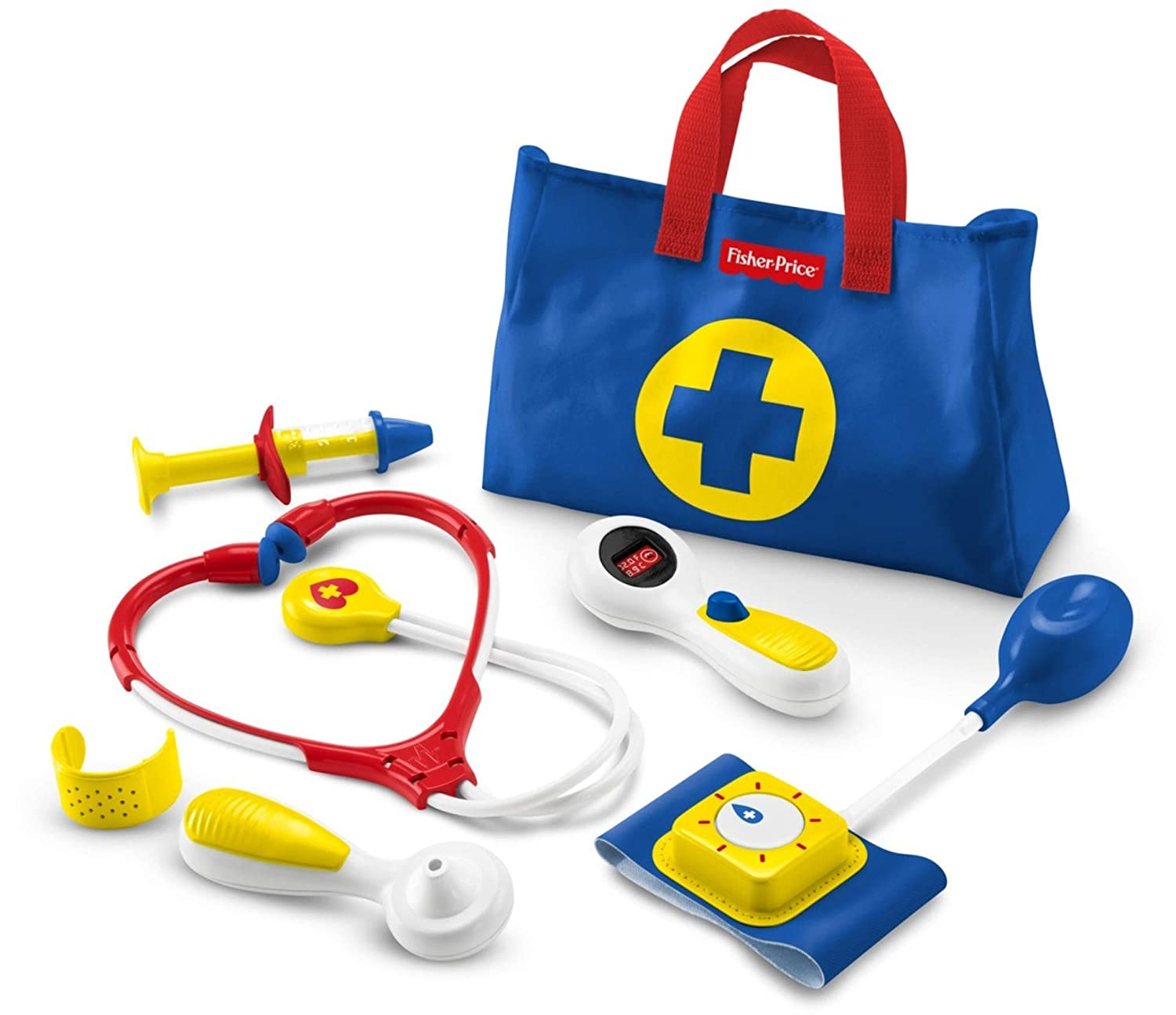 Fisher-Price Medical Kit, Multi Color FFY72