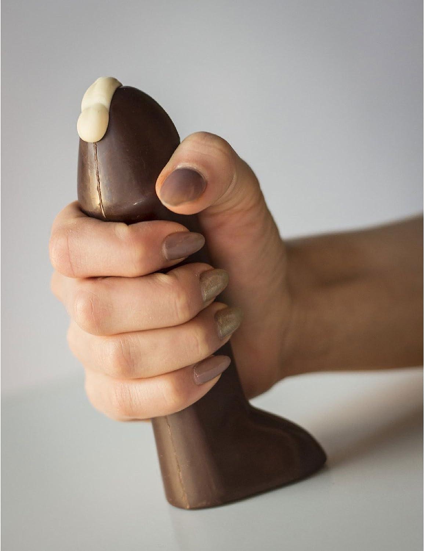 czekoladowy penis bardzo poprawia montaż