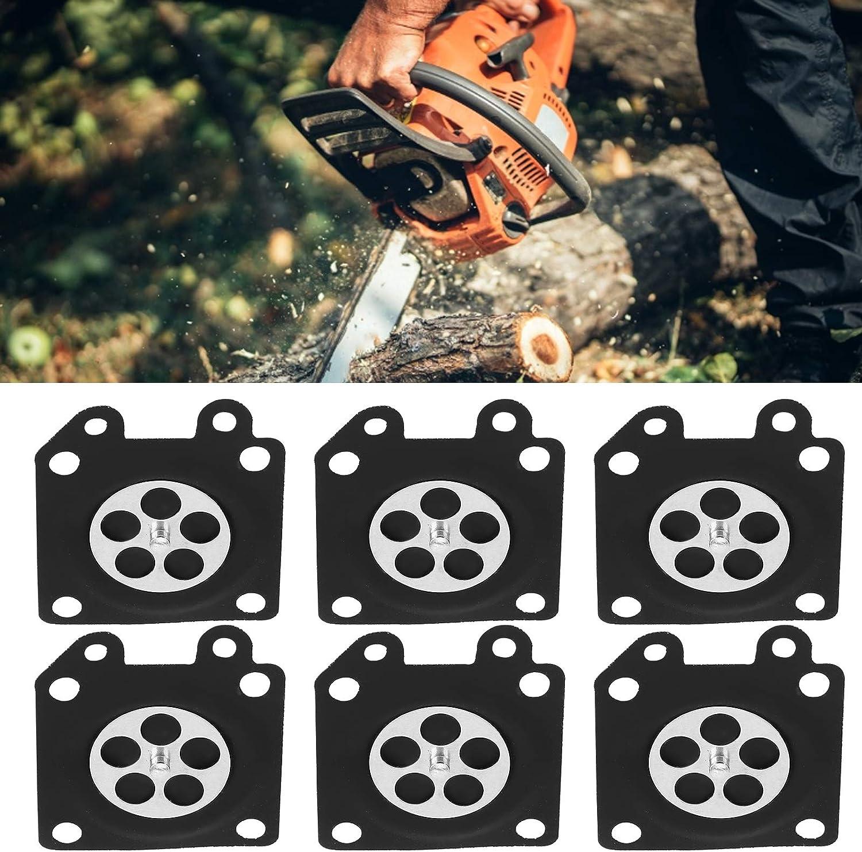 Alta precisione in Gomma per ZAMA 2500//3800 4500 Membrana del carburatore 30 Pezzi//Set Guarnizione Durevole della Membrana