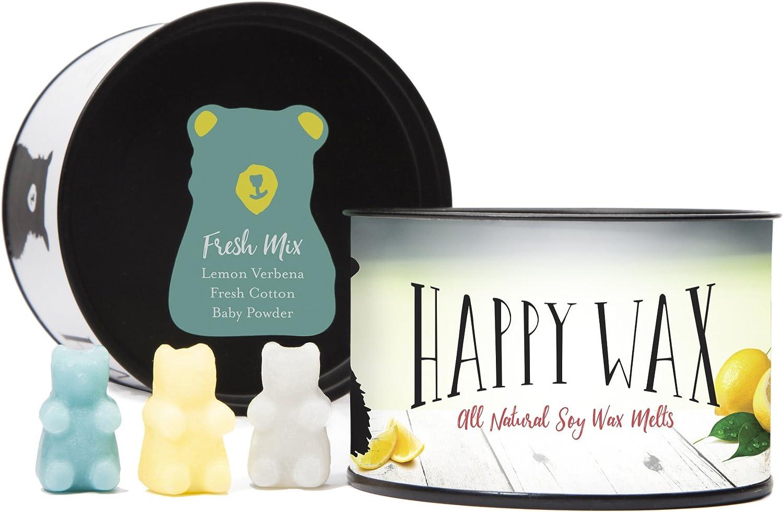 Happy Wax 8 oz Half Pound Teddy Bear Seasonal Scented Wax Melts Wonderland Mix