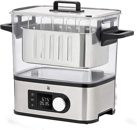 WMF Lono Sous Vide - Máquina de cocción a baja temperatura (entre 35º y 90º), cocina al vacío, cocina profesional, tanque 6 l de TRITAN libre de BPA: Amazon.es: Hogar
