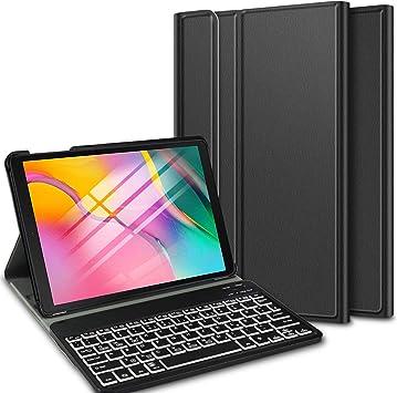 ELTD Teclado Estuche con Portalápices para Samsung Galaxy Tab ...