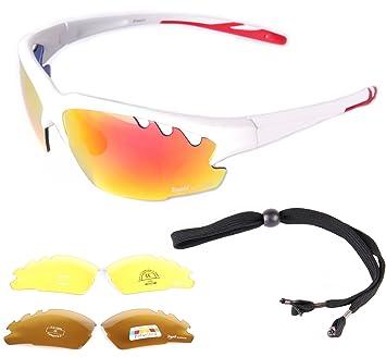 add7837d71c6 Rapid Eyewear Ice UV400 WHITE SPORTS SUNGLASSES For Men   Women with  Interchangeable Mirror