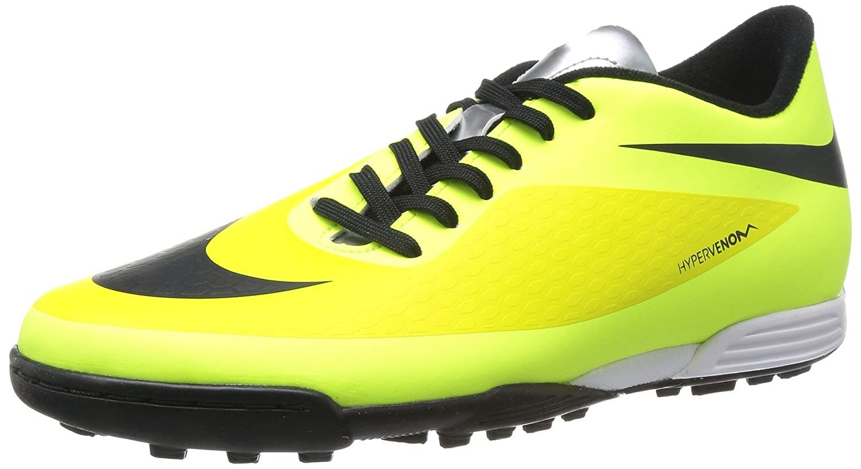 Amazon.com   NIKE Hypervenom Phade TF - Color Black-Green-Yellow ...