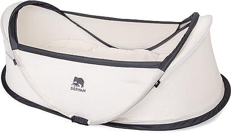 Cuna de viaje para niños con edades entre 0 - 2 años,Cuenta con 50% protección UV y tejido ignífugo,