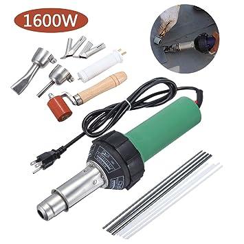 Paneltech 1500W / 1600W kit Antorcha Pistola de Soldadura de Aire Caliente Soldadura Electrónica Soldador Plástico (1600W): Amazon.es: Bricolaje y ...