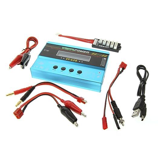 Amazon.com: EV-PEAK EV-650 A DC Easy NiMH y cargador de ...