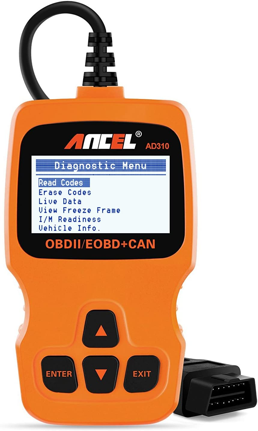 Orange ANCEL AD310 Classic Enhanced Universal OBD II Scanner Car Engine Fault Code Reader CAN Diagnostic Scan Tool