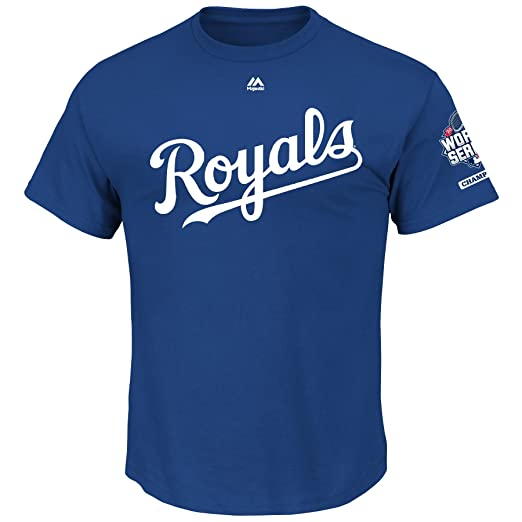 big sale ca1ca 36d5e Majestic Kansas City Royals MLB Youth 2015 World Series Champions T-Shirt  (Youth Xlarge 18/20)