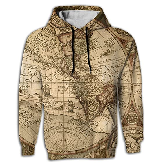 Amazon hoodie sweater world map sublimation full print super hooded sweatshirt world map sublimation full print trend youth hoodie small gumiabroncs Image collections