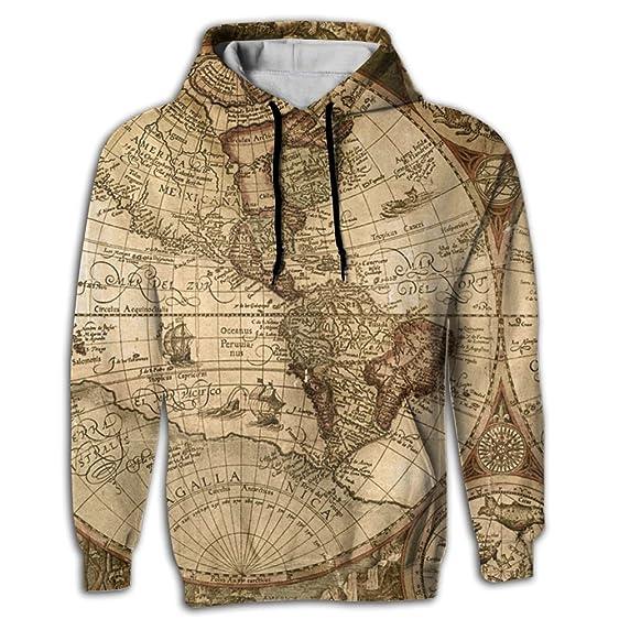 Amazon hoodie sweater world map sublimation full print super hooded sweatshirt world map sublimation full print trend youth hoodie small gumiabroncs Images