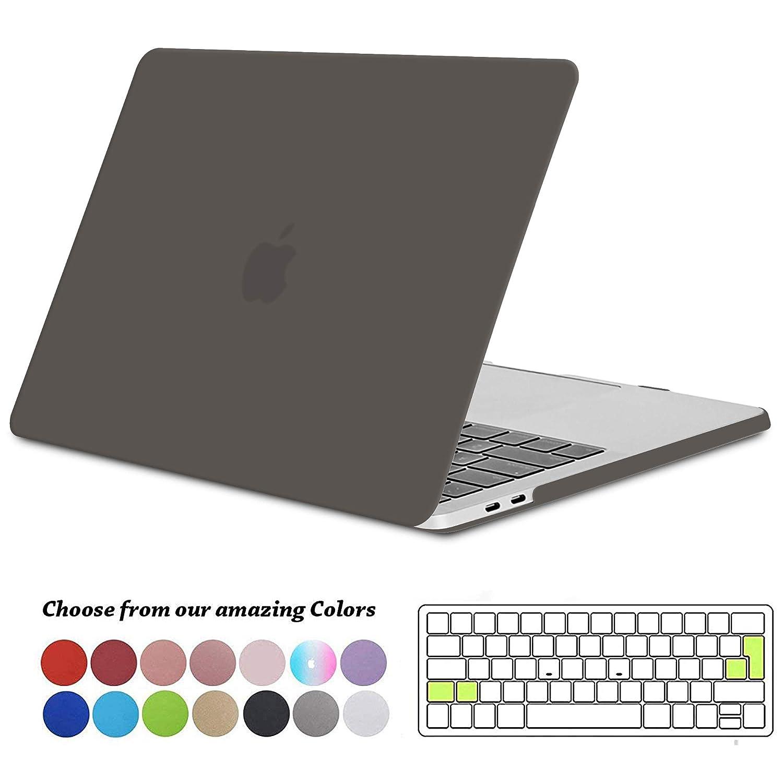 Grigio Tecool Custodia MacBook PRO 15 Pollici 2016//2017//2018 Case Plastica Cover Rigida Copertina /& Copertura della Tastiera per MacBook PRO 15,4 con Touch Bar/&Touch ID A1707//A1990