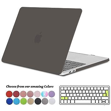Tecool Funda MacBook Pro 13 2016/2017/2018, Plástico Duro Case Carcasa con Tapa del Teclado para MacBook Pro 13.3 Pulgadas con/sin Touch Bar & Touch ...