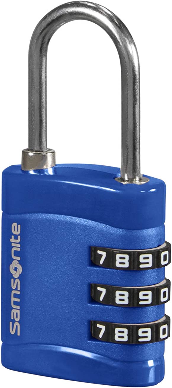 Bleu Midnight Blue 7 cm Cadenas /à 3 chiffres Samsonite Global Travel Accessories