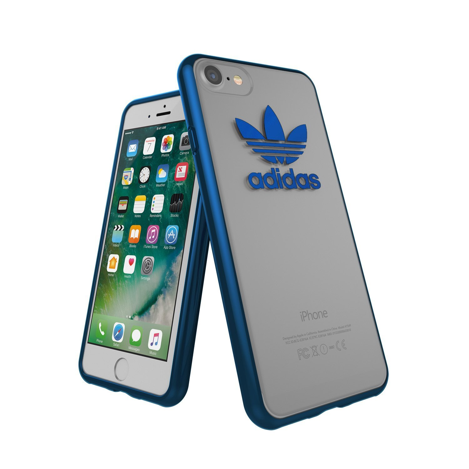 Adidas Originals - Clear Snap On Case For Apple iPhone 8