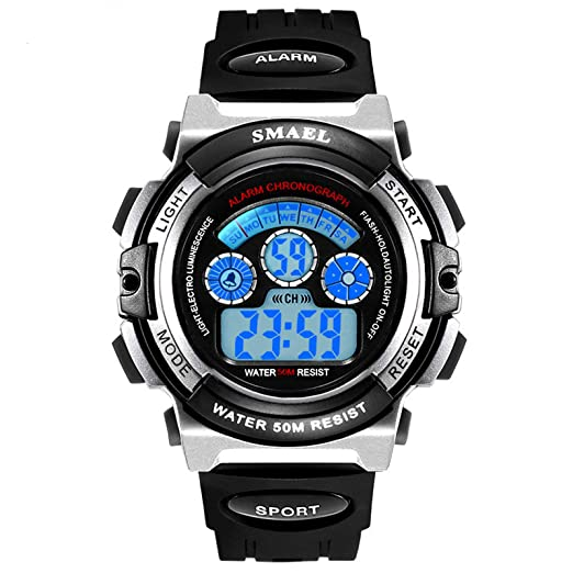 AnazoZ Reloj de Estudiante Reloj Inteligente Relojes Niños Relojes Electronicos Reloj Impermeable Reloj Smartwatch Reloj Multifunción Reloj Deportivo ...