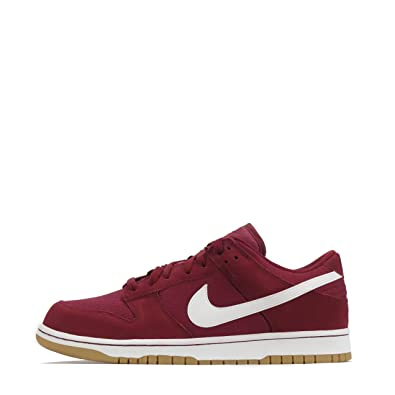 pretty nice 63873 64ae3 Nike Dunk Low Mens Trainers 904234 Sneakers Shoes (US 7.5, Gym red Team  White