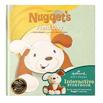 Hallmark KOB8047 Nugget's Field Day Interactive Story Book #2: Toys & Games