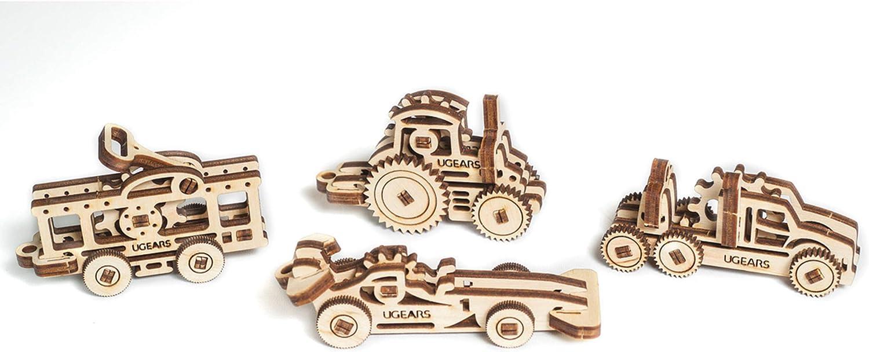 UGears U-Fidget Plywood Vehicles Series
