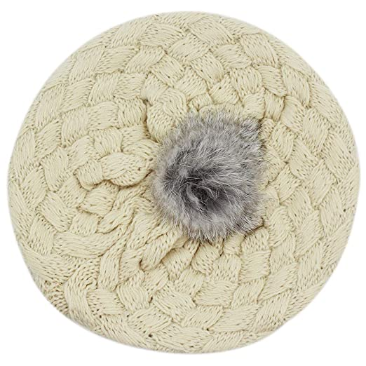 99a02d46394 Image Unavailable. Image not available for. Color  Aimeio Baby Girls Boys  Winter Knit Crochet Beret Hat ...