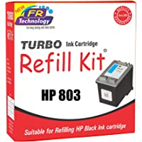 TURBO Ink Cartridge Refill Kit for HP 803 (Black)