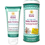 Mom of 11 Kids No Time for Baby Eczema, Advanced Anti-Itch Therapy Max Strength Ointment - Dr. Recommended, Hypo-Allergenic, Safe for Sensitive Skin, All-Natural relief from eczema - 3oz.