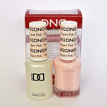 Amazon Com Dnd Gel Polish Elegant Pink 602 Beauty