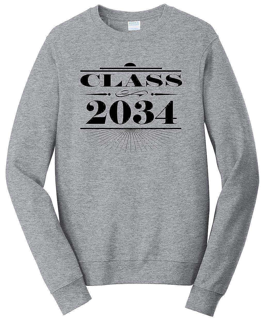 Tenacitee Unisex Art Deco Class of 2034 Sweatshirt