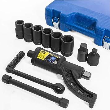 LB /à double marteau pouce 1200FT position courte /à 6 couples Cl/é /à choc pneumatique de 3//4