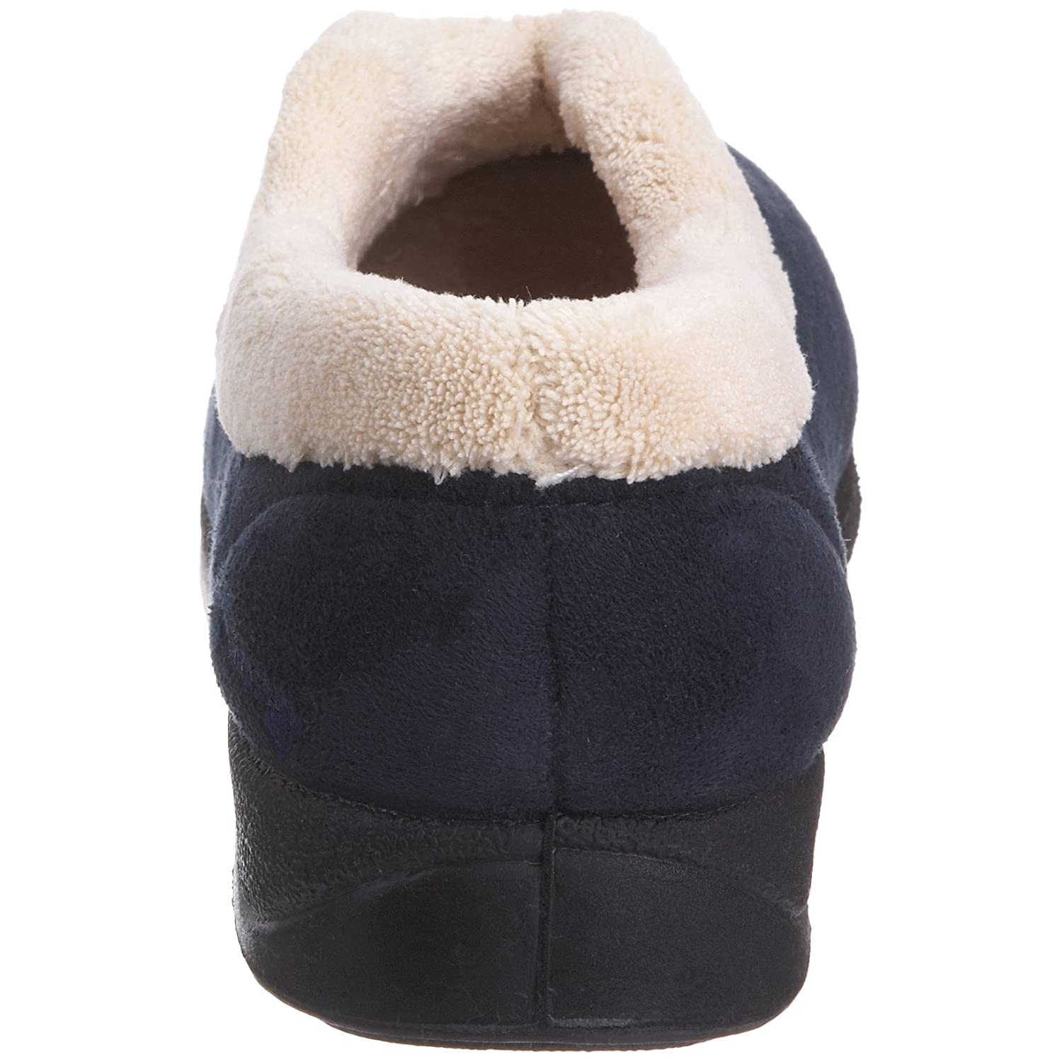 Padders Teal Fleece And Fur Lined Carmen Chaussons femme