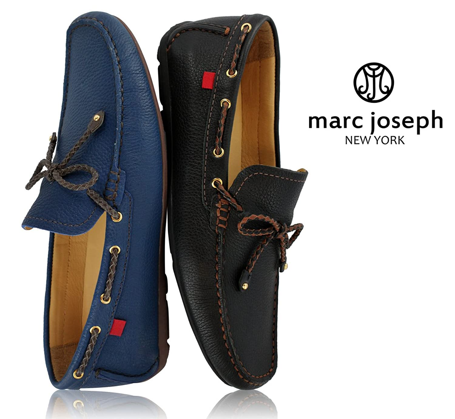 Marc Joseph New York Men's Cypress Hill Brown Grainy Braided Bow:  Amazon.ca: Shoes & Handbags