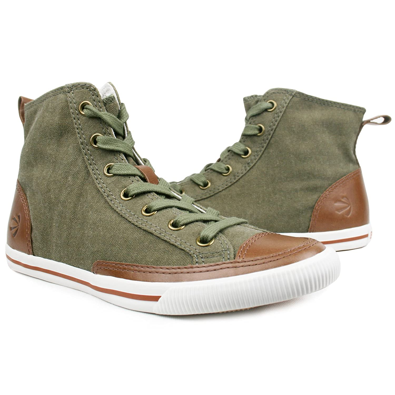 Burnetie Women's High Top Vintage sneaker B00DBDCL0K 9 B(M) US