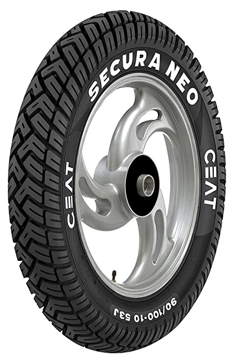 Ceat Secura Neo 3.00-10 42J Tube-Type Scooter Tyre, Front or Rear (Home Delivery)