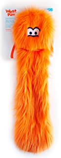 product image for West Paw Judith, Rowdies with HardyTex, Plush Dog Toy, Orange Fur