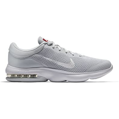 7485ac64 ... free shipping nike mens air max advantage running shoe pure platinum  white wolf grey size 13