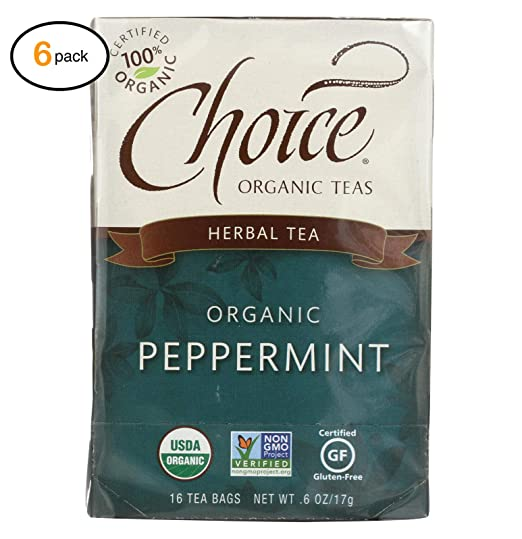 Amazon.com: Chоicе оrganic Tеas Pеppеrmint Hеrb Tеa - 16 ...