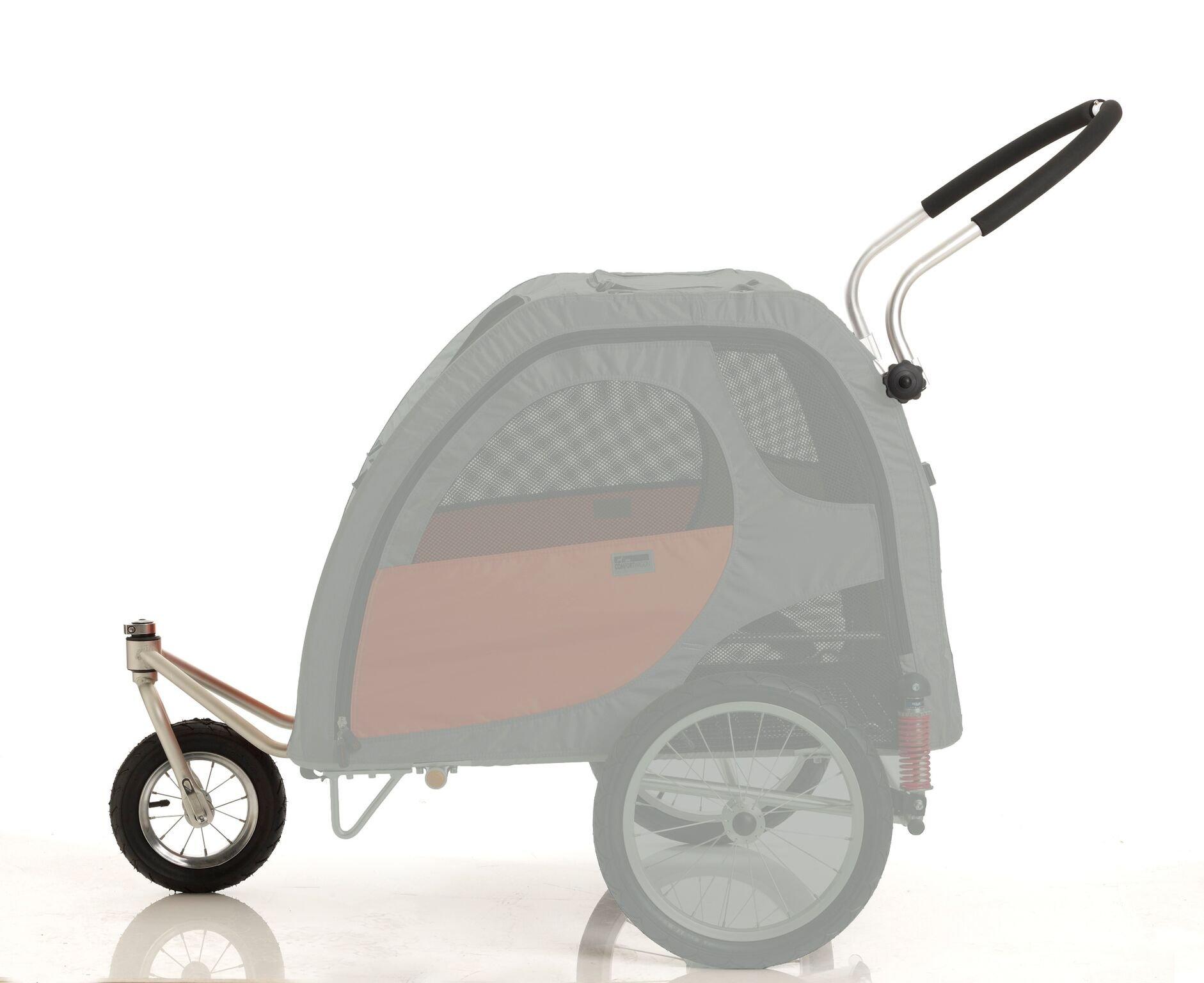 Petego Stroller Conversion Kit for Comfort Wagon Pet Bicycle Trailer, Large