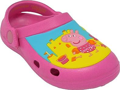 e05e99e91 Peppa Pig Sandals Girls Clogs Crocs Sizes 4 to 10  Amazon.co.uk  Shoes    Bags
