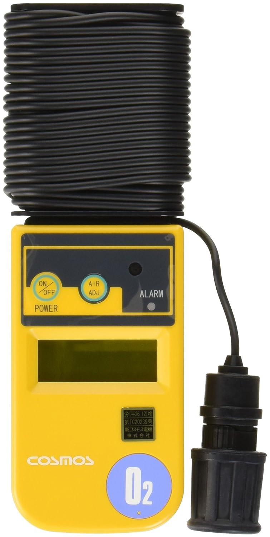 新コスモス電機 酸素濃度計 10m(本体巻取式) /1-8752-04 B06XW96FVL