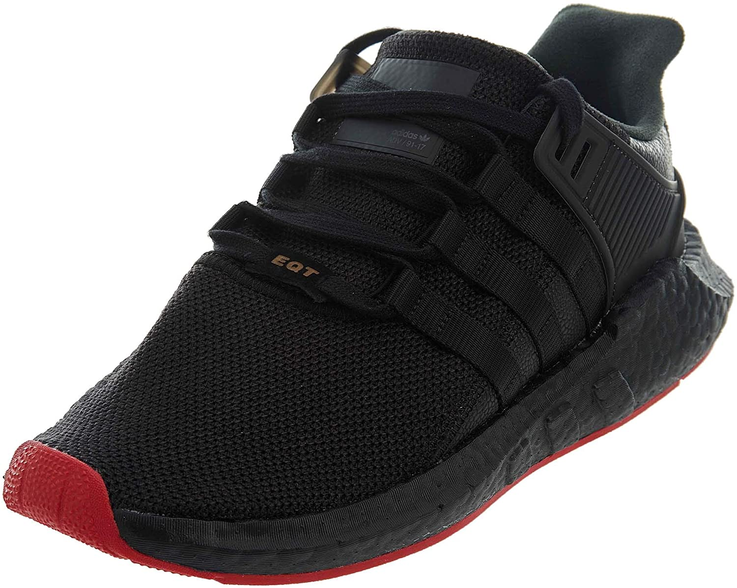 adidas Men s EQT Support 93 17 Originals Running Shoe 11 Black