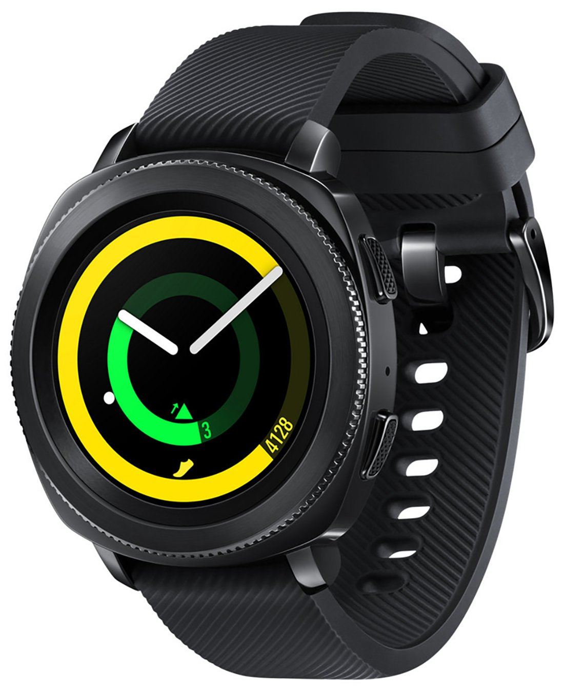 Samsung Gear Sport (SM-R600) Black, International Version, No Warranty