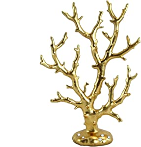 WonderMolly Sea Life Collection Gold Coral Figurine