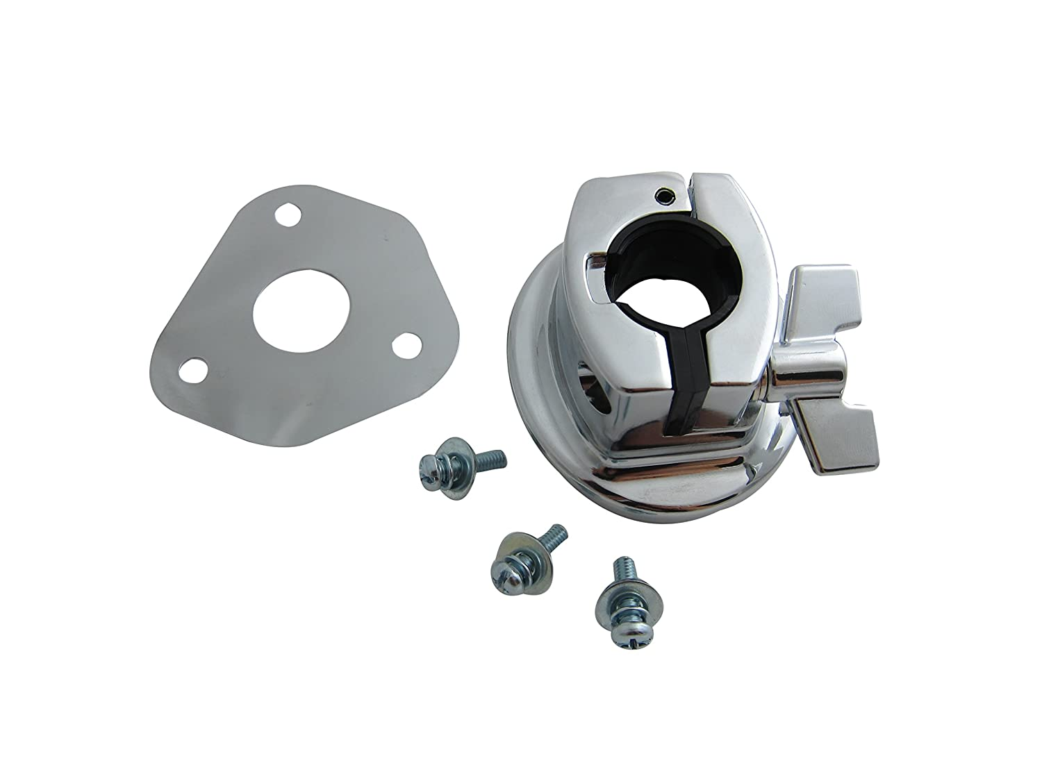 Goedrum Bass Drum Tom Mount Bracket with Screws and Base Plate for Drum Shell 15~18mm Goe-9558