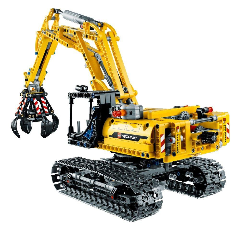 Building LEGO 42006 Excavator - LEGO Reviews & Videos