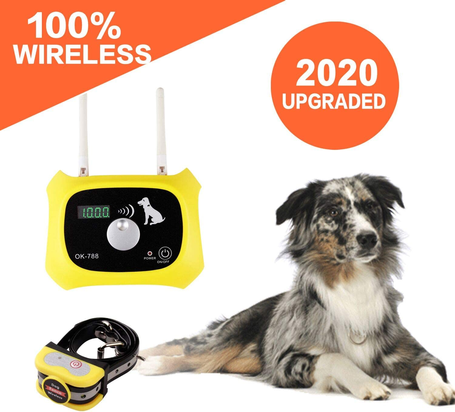 Best wireless electric dog fence 8