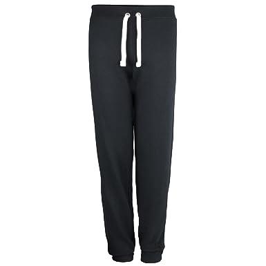 Awdis - Pantalones de chándal con puños para mujer/chica: Amazon ...